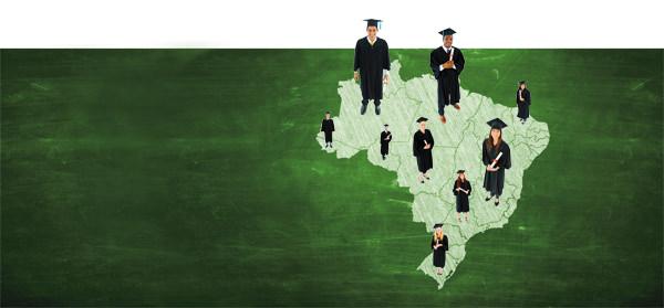 Um campus do tamanho do Brasil