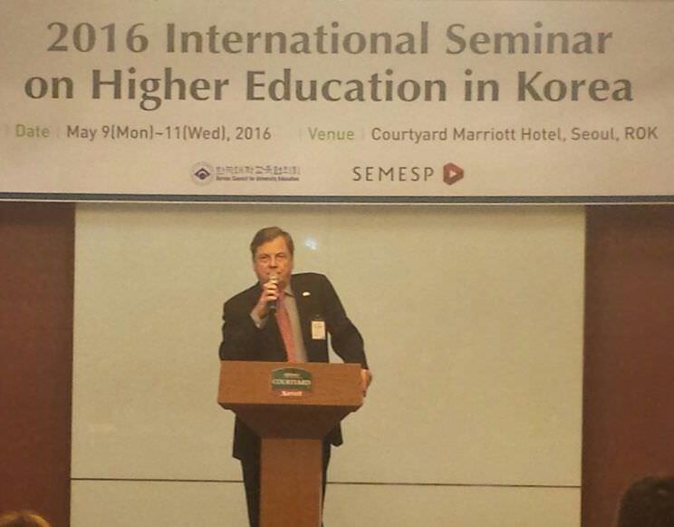 Embaixador brasileiro na Coreia do Sul, Luis Fernando Serra,  abre a Missão Técnica Semesp 2016
